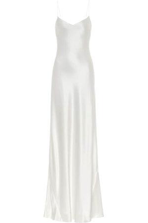 GALVAN Malibu satin maxi bridal dress