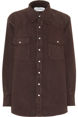 MATTHEW ADAMS DOLAN Denim shirt