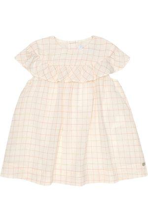 Tartine Et Chocolat Baby checked cotton-blend dress