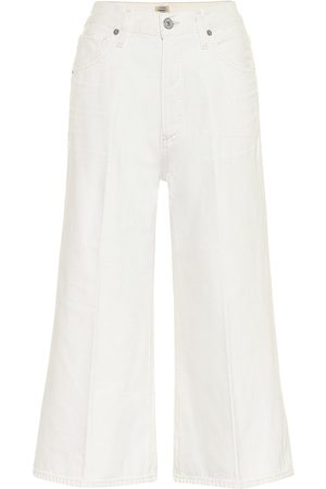 Citizens of Humanity Emily wide-leg denim culottes