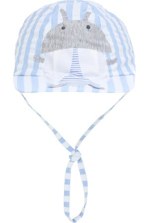 Il gufo Baby printed cotton baseball cap