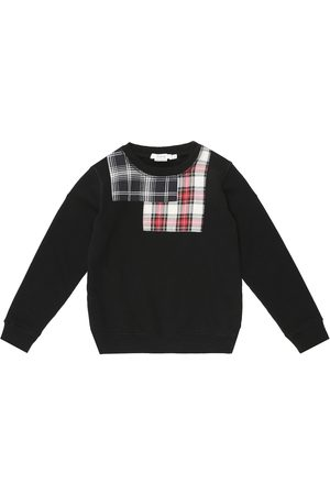 BONPOINT Checked cotton sweatshirt