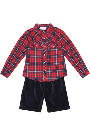 Rachel Riley Cotton shirt and shorts set