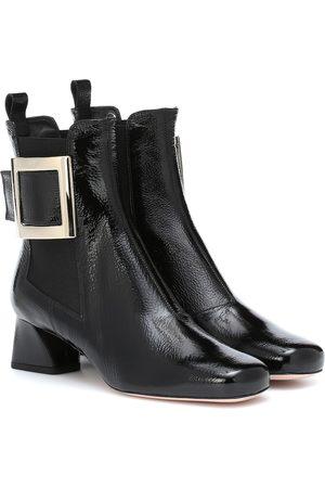 Roger Vivier Très Vivier patent leather ankle boots