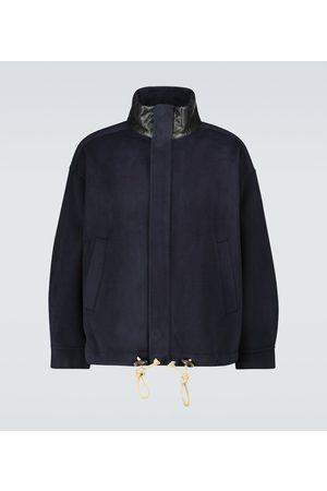 Nanushka Hayden wool-silk parka jacket