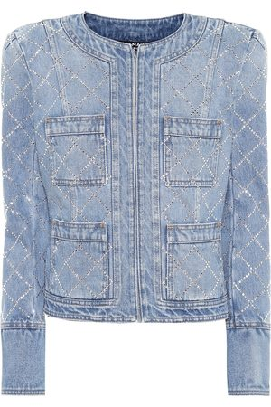 Balmain Embellished denim jacket