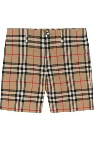 Burberry Vintage Check cotton shorts