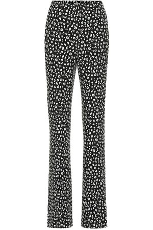Miu Miu Printed jersey straight pants