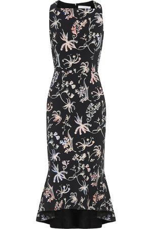 Peter Pilotto Floral cady dress