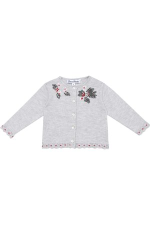 Tartine Et Chocolat Baby embroidered cardigan