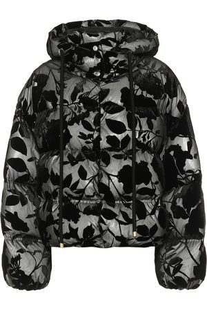 Moncler Genius 2 MONCLER 1952 Dora flocked down coat