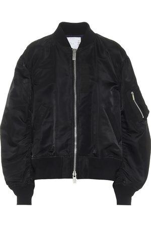SACAI Nylon bomber jacket