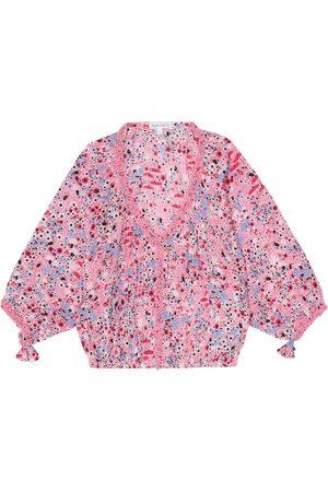 POUPETTE ST BARTH Ariel floral blouse