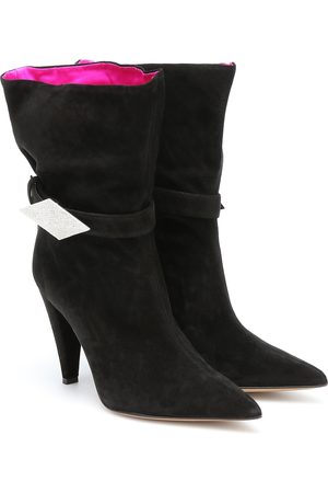 ALEXANDRE VAUTHIER Kristy 100 suede ankle boots