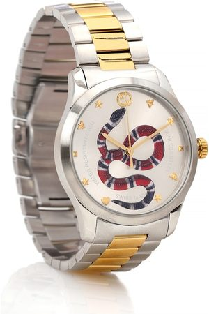 Gucci Dame Klokker - G-Timeless 38mm stainless steel watch