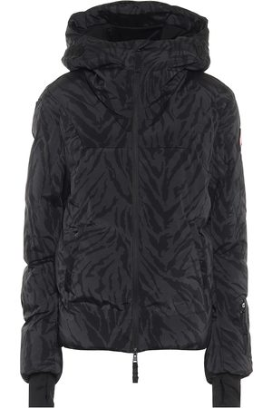 JET SET Julia tiger-print padded ski jacket