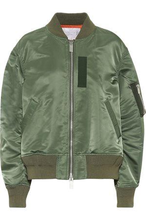 SACAI Dame Bomberjakker - Nylon bomber jacket