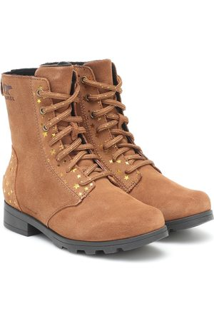 sorel Emelie suede ankle boots