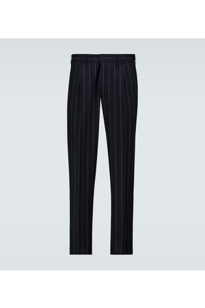THE GIGI Tonga pinstriped wool pants