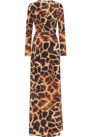 Roberto Cavalli Animal-print stretch-jersey dress
