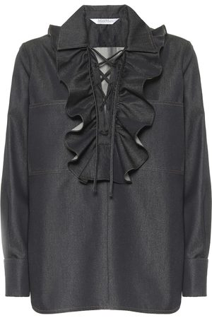 Max Mara Oriana denim shirt