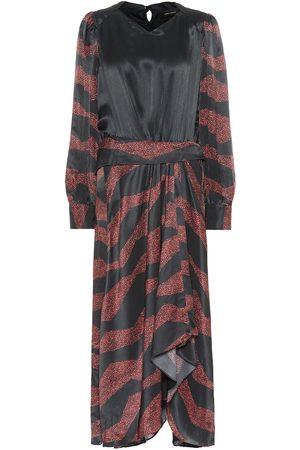 Isabel Marant Romina printed silk-blend midi dress