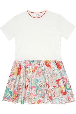 BONPOINT Nolwenn floral cotton dress