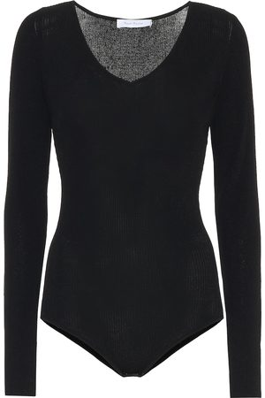 RYAN ROCHE Stretch-knit bodysuit