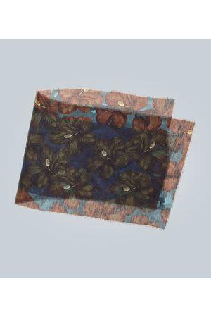 DRIES VAN NOTEN Floral printed scarf
