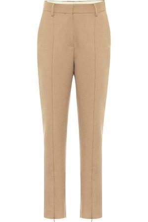 MM6 MAISON MARGIELA Zipped high-rise slim fit pants