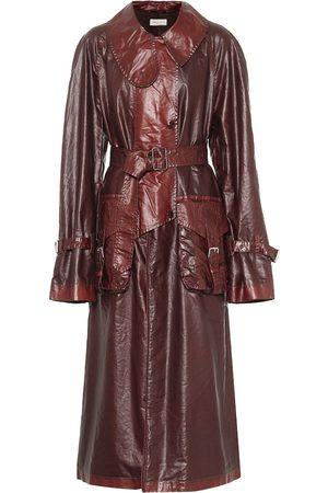 DRIES VAN NOTEN Coated cotton trench coat