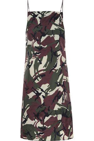 Kwaidan Editions Camouflage slip dress