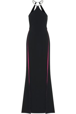 Stella McCartney Elina embellished stretch-crêpe gown