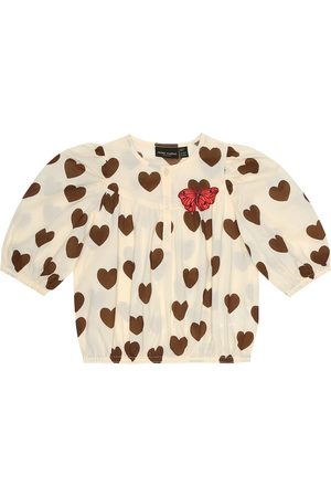 Mini Rodini Hearts printed cotton top
