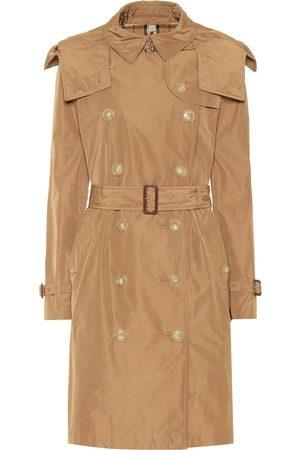 Burberry Kensington hooded trench coat