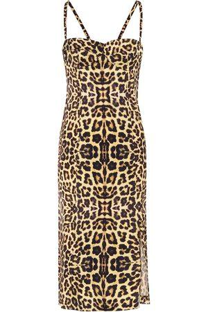 DRIES VAN NOTEN Leopard-print dress