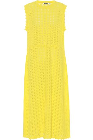 Jil Sander Crochet cotton dress