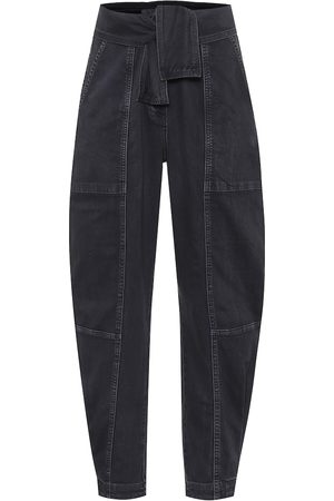 ULLA JOHNSON Storm high-rise carrot jeans