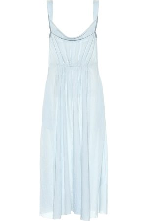 BROCK COLLECTION Exclusive to Mytheresa – Davi gingham cotton midi dress