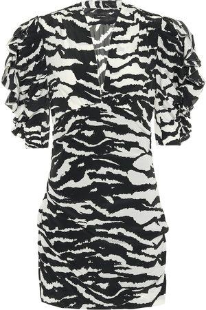 Isabel Marant Farah animal-print minidress