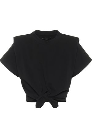 Isabel Marant Belita cotton-jersey crop top