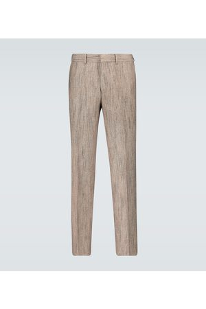 Auralee Wool-blend pleated pants