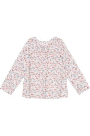 BONPOINT Paige Liberty floral cotton top