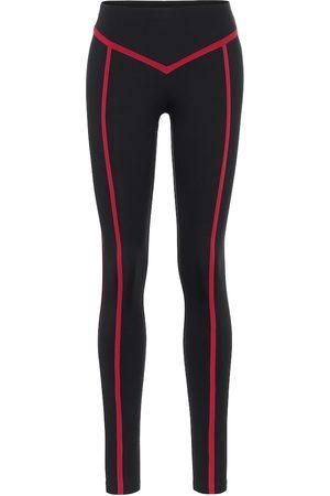 ERNEST LEOTY Corset high-rise leggings