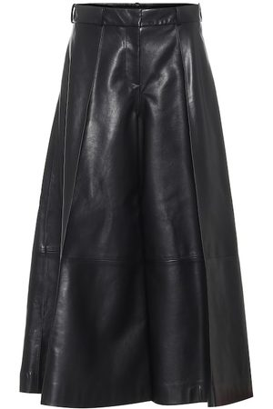 Khaite Selma high-rise leather pants