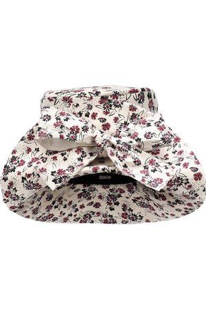 Miu Miu Floral cotton hat