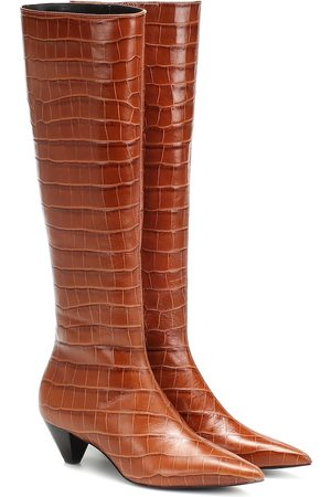 Mercedes Castillo Donique leather knee-high boots