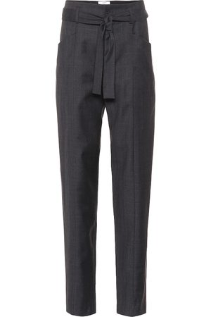 Isabel Marant Vittoria checked virgin wool pants