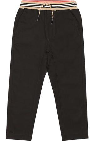 Burberry Dilan cotton twill trackpants
