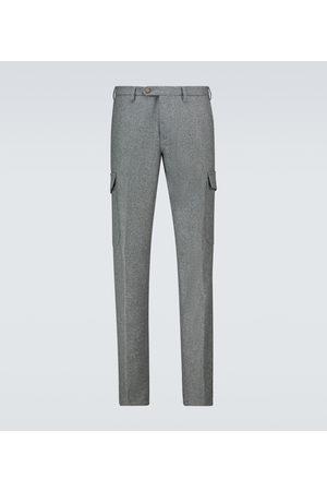 Thom Sweeney Flannel cargo pants